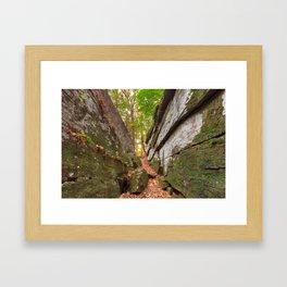 Gettysburg Grotto Framed Art Print