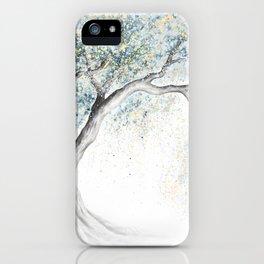 Gentle Frost Tree iPhone Case