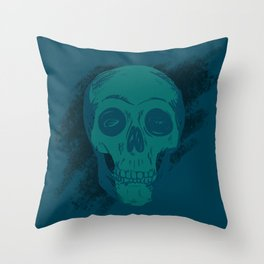 Skull Together Now Throw Pillow