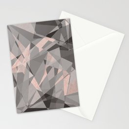 Shattered - Rose Gold Stationery Cards