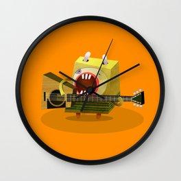 Guitar player Wall Clock