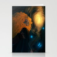merida Stationery Cards featuring Merida by Azulity