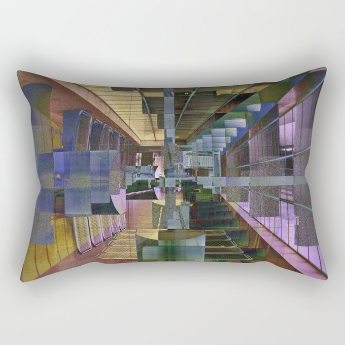MAGIC URBAN LINES  Rectangular Pillow