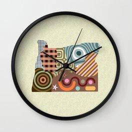 Oregon State Map Wall Clock