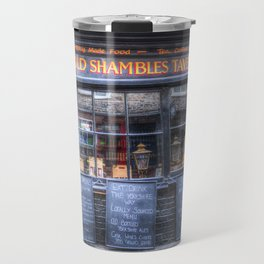 Ye Old Shambles Tavern York Travel Mug