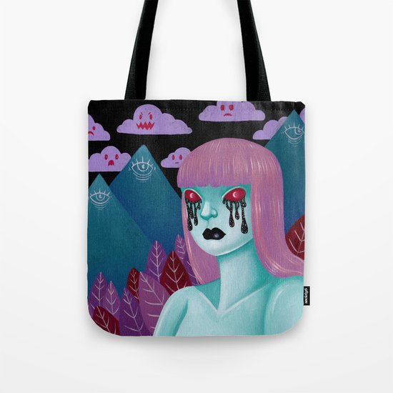 cry me a universe Tote Bag