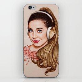 Zoella & Music iPhone Skin