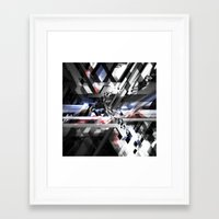 sonic youth Framed Art Prints featuring Sonic by Subcon
