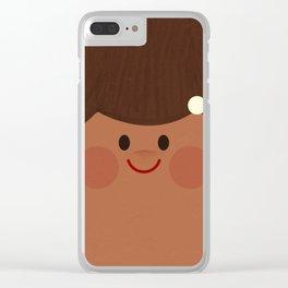 Face II Clear iPhone Case
