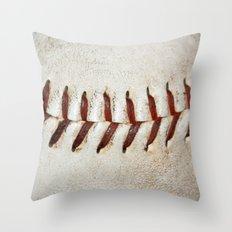 Vintage Baseball Stitching Throw Pillow