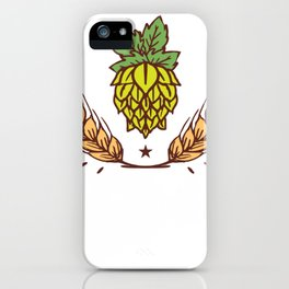 Brewery yeast sayings iPhone Case