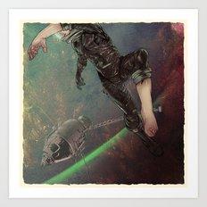 Bodies in Space: Ebullism Art Print