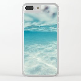 In between dreams Clear iPhone Case