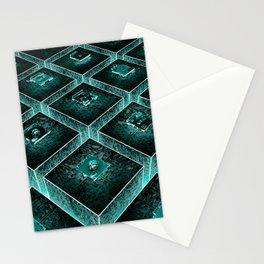 AzTECH Temple Stationery Cards