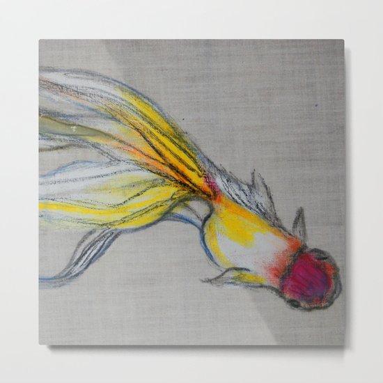 Goldfish Pond (close up #4) Metal Print