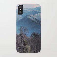 Blue Mountains iPhone X Slim Case
