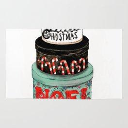 christmas box Rug