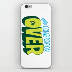 Conversation Over iPhone & iPod Skin