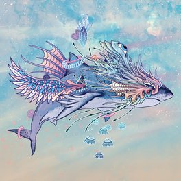 Art Print - Journeying Spirit (Shark) - Mat Miller