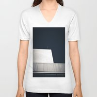 oslo V-neck T-shirts featuring The Opera by Marte Stromme