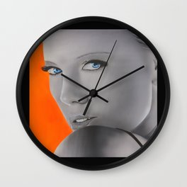 Charlize Theron Wall Clock