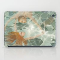 little mermaid iPad Cases featuring Little Mermaid by Fizzyjinks
