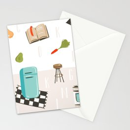 Cooking Mama Stationery Cards