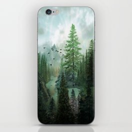 Mountain Morning 2 iPhone Skin
