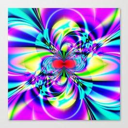 Subatomic Fractal Art Canvas Print