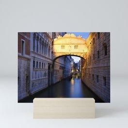The Bridge of Sighs Mini Art Print