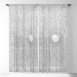Turbulence 20 Sheer Curtain