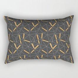 Yellow Prisma Rectangular Pillow