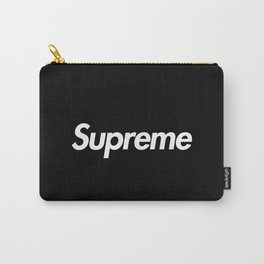 Supreme Box Logo Black Carry-All Pouch