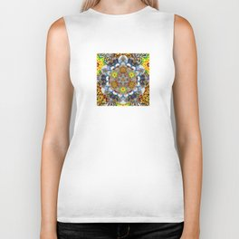 Upwards Redux - The Mandala Collection Biker Tank
