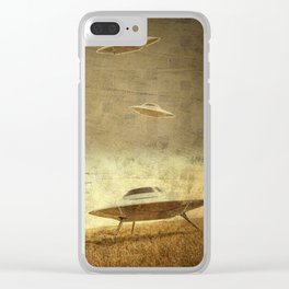 Manta Ray no.[75] Clear iPhone Case