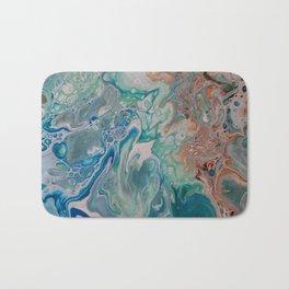 Tie the Knot Unique Fluid Acrylic Print Bath Mat