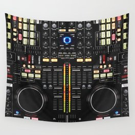 DJ Set NS7 Denon Mc6000 Wall Tapestry