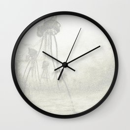 War of the Worlds (The complete book) Wall Clock