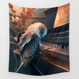Piano Lesson Wall Tapestry