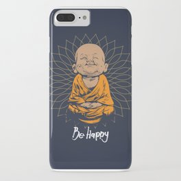 Be Happy Little Buddha iPhone Case