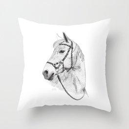 Inka horse Throw Pillow