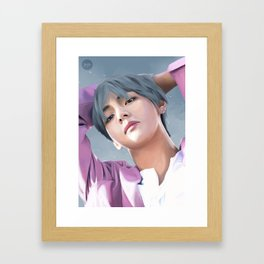 Dreamy V Framed Art Print