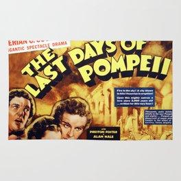 The Last Days of Pompeii Rug