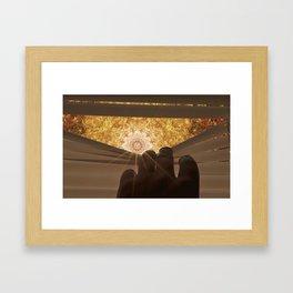 Mandala World Framed Art Print