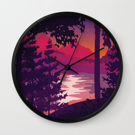 My Nature Collection No. 4 Wall Clock