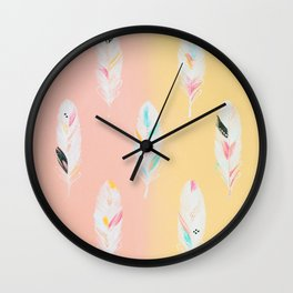 Featherlight Wall Clock