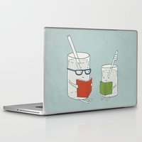 reading Laptop & iPad Skins featuring Reading Glasses by Phil Jones