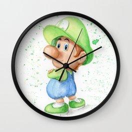 Baby Luigi Wall Clock