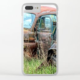wrecked 3 Clear iPhone Case