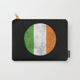 Irish Flag St. Patrick's Day Retro Carry-All Pouch
